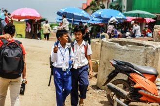 Local School Boys