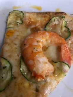 The best Prawn pizza form Sergio Crivelli